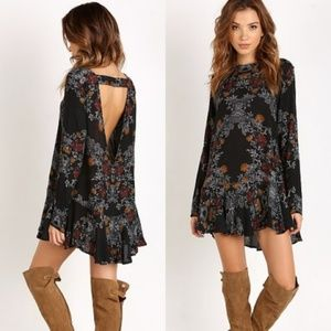 FREE PEOPLE Long sleeve tunic dress